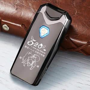 仕保罗USB防风双电弧打火机,可DIY刻字体现专属感