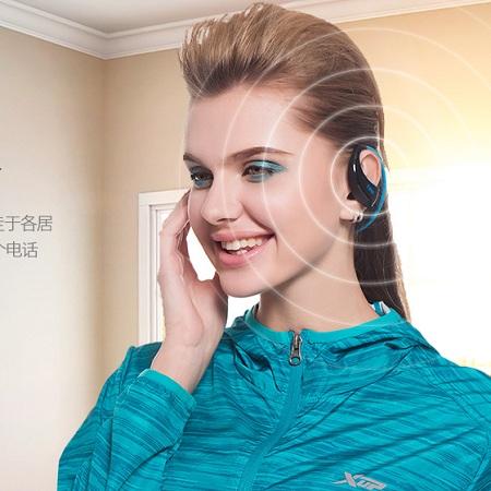 DACOM无线蓝牙防水挂耳式运动耳机,运动时狂甩不掉