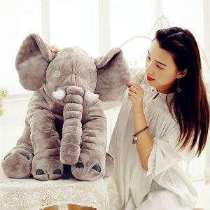 Sugibugi灰色大象毛绒抱枕,送给孩子最贴心的安抚礼物