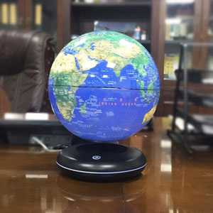 黑科技磁悬浮地球仪,一款创意神奇的桌面摆件