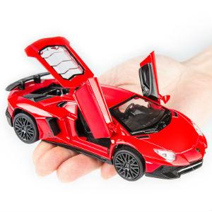 建元兰博基尼模型轿车,可作收藏家居摆件礼物