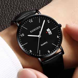 新款正品卡诗顿手表,超薄防水的时尚男士手表