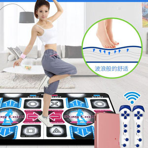 瘦身男女无线跑步跳舞毯,在家跳舞运动不扰民