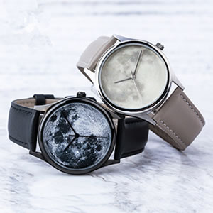 just2you月球星空情侣手表,创意文艺情侣的最爱