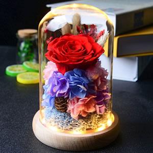 何以笙箫默永生花礼盒,让她永远不会忘记你的爱