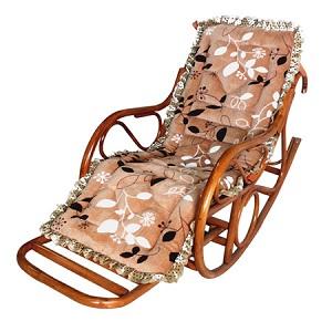 有伸缩脚踏的植物藤编摇椅躺椅太师藤椅,还送豪华坐垫哦