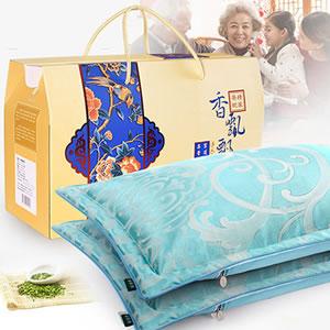 天然薰衣草高档对枕礼盒,送礼既实用还有面子