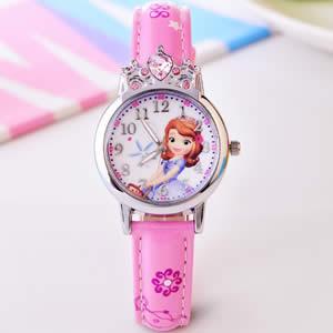 迪士尼儿童公主手表,超漂亮的小公主女童手表