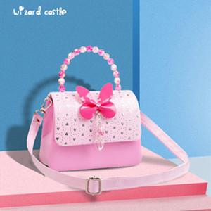 公主梦幻粉手提斜挎包,粉嫩可爱小朋友的最爱
