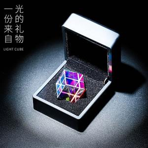 黑科技立方人造水晶,一份来自光的礼物