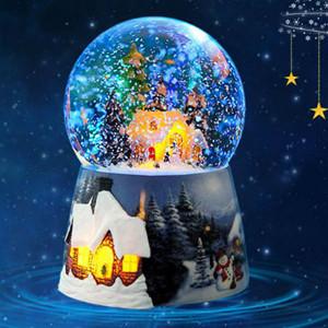天空之城雪花水晶球音乐盒,内含48首音乐可个性定制
