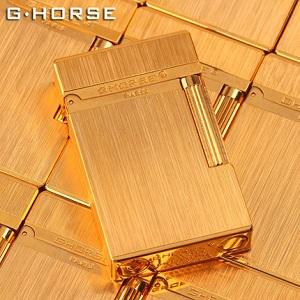 法国ghorse纯铜金属拉丝打火机,打造硬汉的时尚