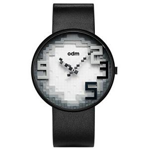 odm乐高积木概念像素方块表盘手表,23:59永远都不会太迟