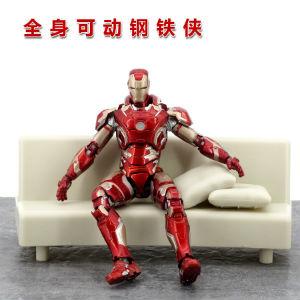 漫威钢铁侠关节可动手办模型,可作摆设收藏礼品装饰