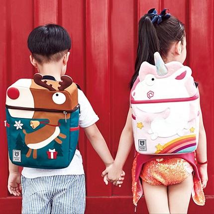 韩国杯具熊儿童书包,小朋友超喜欢的可爱书包