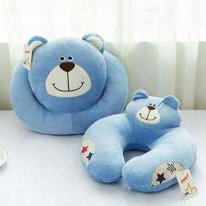 米娜春天卡通U型枕趴趴枕,哈皮猴龅牙兔欢心熊多款可选