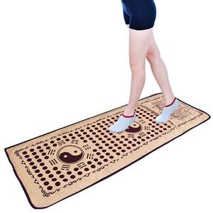 达善堂仿鹅卵石足底按摩垫,经常走一走有助于身体健康