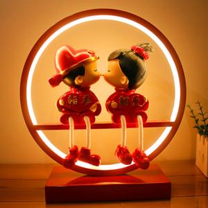 卧室婚庆创意台灯,陪伴你们渡过每个甜蜜的夜晚
