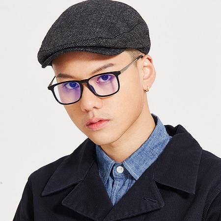 音米方框防蓝光眼镜,防辐射抗疲劳护眼新风尚